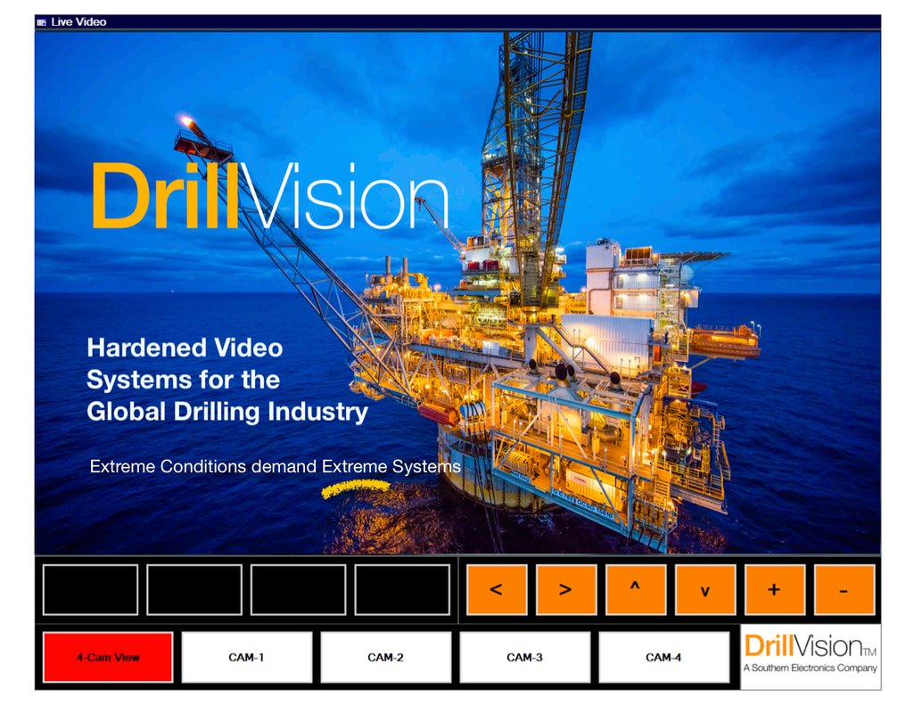 offshore drilling rig video